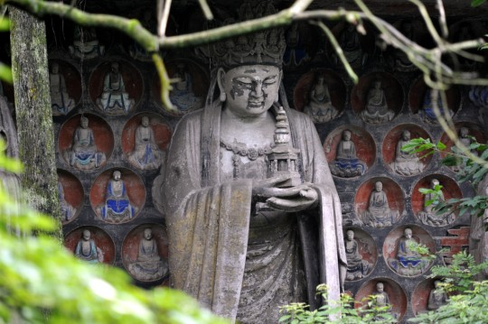 Dazu Rock Carvings, in Chongqing, China. Image: Yellowbigbee | Dreamstime.com.