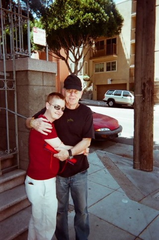 After Ven. Pelza was released from prison, she met Will in front of the LPP building in San Francisco, 2007. Photo courtesy of Ven. Tenzin Pelza via Facebook.