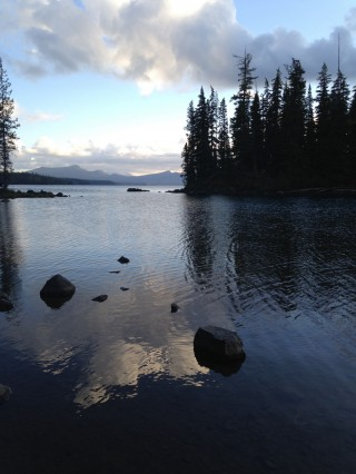 Waldo Lake, Oregon, US, August 2014. Photo courtesy of Mandala Publications.