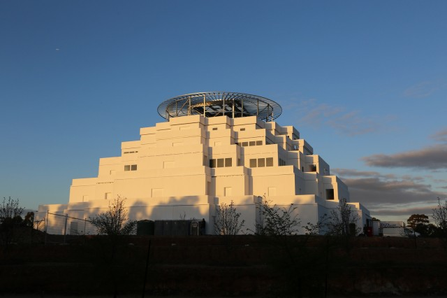 The Great Stupa of Universal Compassion, Australia, September 12, 2013. Photo by Ven. Thubten Kunsang.