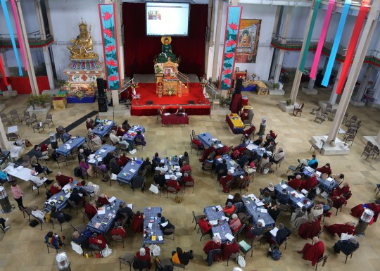 CPMT 2014 meeting, Great Stupa of Universal Compassion, Australia, September 16, 2014. Photo by Ven. Thubten Kunsang.