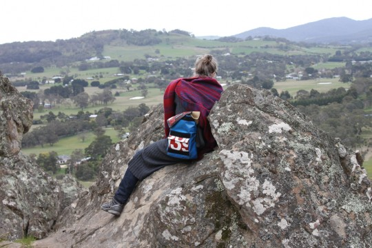 Hanging Rock, Victoria, Australia, September 15, 2014. Photo by Laura Miller.