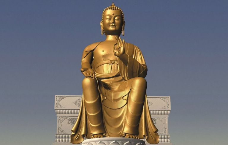 maitreya project The magnificent 24 feet statue is a key part part of maitreya project's history the fascinating story of the statue's creation will be posted separately.