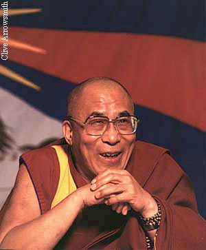 His Holiness the Fourteenth Dalai Lama. Photo by Clive Arrowsmith.