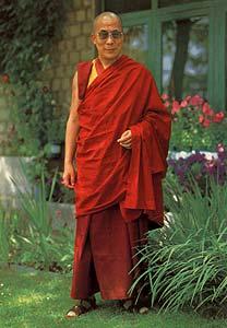 His Holiness the Fourteenth Dalai Lama, Photo courtesy of Maitreya Project.