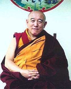 Khensur Denma Locho Rinpoche. Photo by Sandra Magnussen