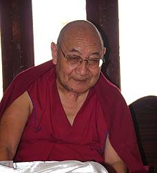 Venerable Dhakpa Tulku Rinpoche