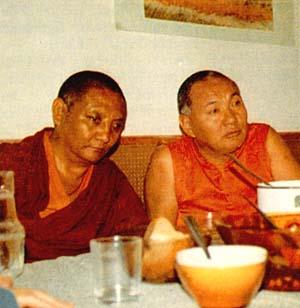 At Nalanda Monastery, September 1983.