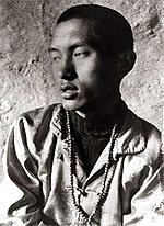 Lama and Rinpoche at Lawudo. 1970