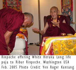 Photo Credit: Ven Roger Kunsang in Washington USA February 2005