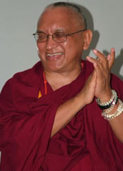 Rinpoche at CPMT